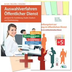 Das Auswahlverfahren und der Einstellungstest zur Ausbildung im öffentlichen Dienst von Guth,  Kurt, Mery,  Marcus, Mohr,  Andreas