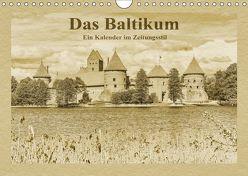 Das Baltikum – Ein Kalender im Zeitungsstil (Wandkalender 2019 DIN A4 quer)