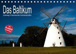 Das Baltikum – Unterwegs in faszinierenden Kulturlandschaften (Tischkalender 2019 DIN A5 quer) von Hallweger,  Christian