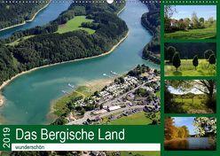 Das Bergische Land – wunderschön (Wandkalender 2019 DIN A2 quer) von Harhaus,  Helmut
