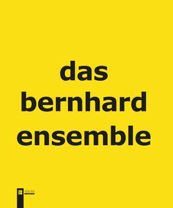 Das Bernhard Ensemble von Macho,  Günter