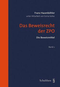 Das Beweisrecht der ZPO (PrintPlu§) von Hasenböhler,  Franz