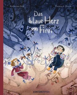 Das blaue Herz von Finn von Hauck,  Thomas J, Sieg,  Katharina