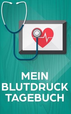 Das Blutdrucktagebuch zum Blutdruck Messen für über 100 Tage von Tagebücher,  Dalet