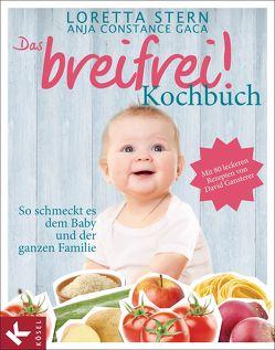 Das breifrei!-Kochbuch von Gaca,  Anja Constance, Stern,  Loretta