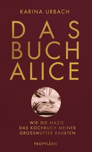 Das Buch Alice von Urbach,  Karina