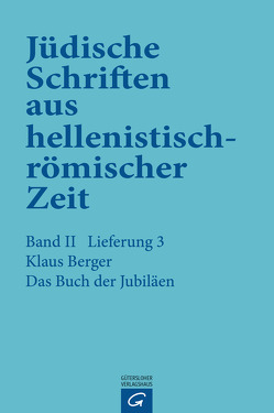 Das Buch der Jubiläen von Berger,  Klaus