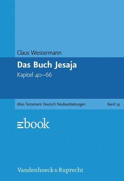Das Buch Jesaja von Westermann,  Claus