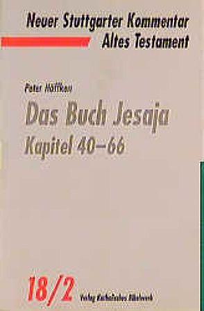 Das Buch Jesaja von Höffken,  Peter