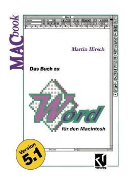 Das Buch zu Word für den Macintosh von Hirsch,  Martin