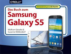 Das Buch zum Samsung Galaxy S5 von Gieseke,  Wolfram, Möllendorf,  Susanne