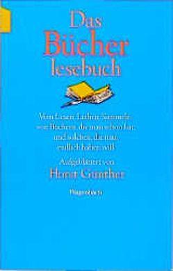 Das Bücherlesebuch von Günther,  Horst