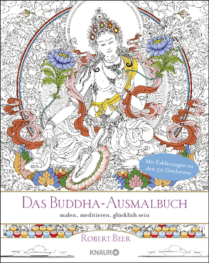 Das Buddha-Ausmalbuch von Beer,  Robert, Zetzl,  Angela