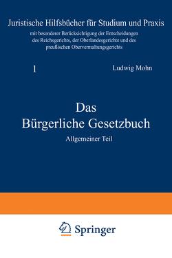 Das Bürgerliche Gesetzbuch von Mohn,  Ludwig