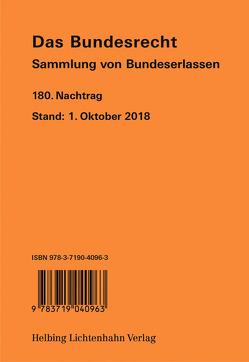 Das Bundesrecht, N 180 von Brüstlein,  Manuela