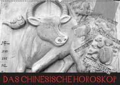 Das Chinesische Horoskop / Geburtstagskalender (Wandkalender 2019 DIN A2 quer) von Stanzer,  Elisabeth