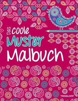 Das coole Muster-Malbuch von Eckel,  Jessie