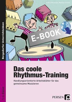 Das coole Rhythmus-Training von Dausacker,  Gudrun, Schmitt,  Matthias