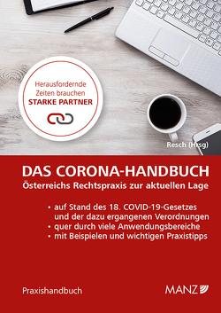 Das Corona-Handbuch von Resch,  Reinhard