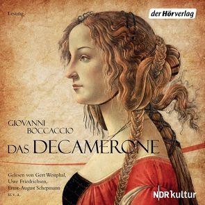 Das Decamerone von Boccaccio,  Giovanni, Friedrichsen,  Uwe, Joachim,  Nottke, Schepmann,  Ernst-August, Westphal,  Gert