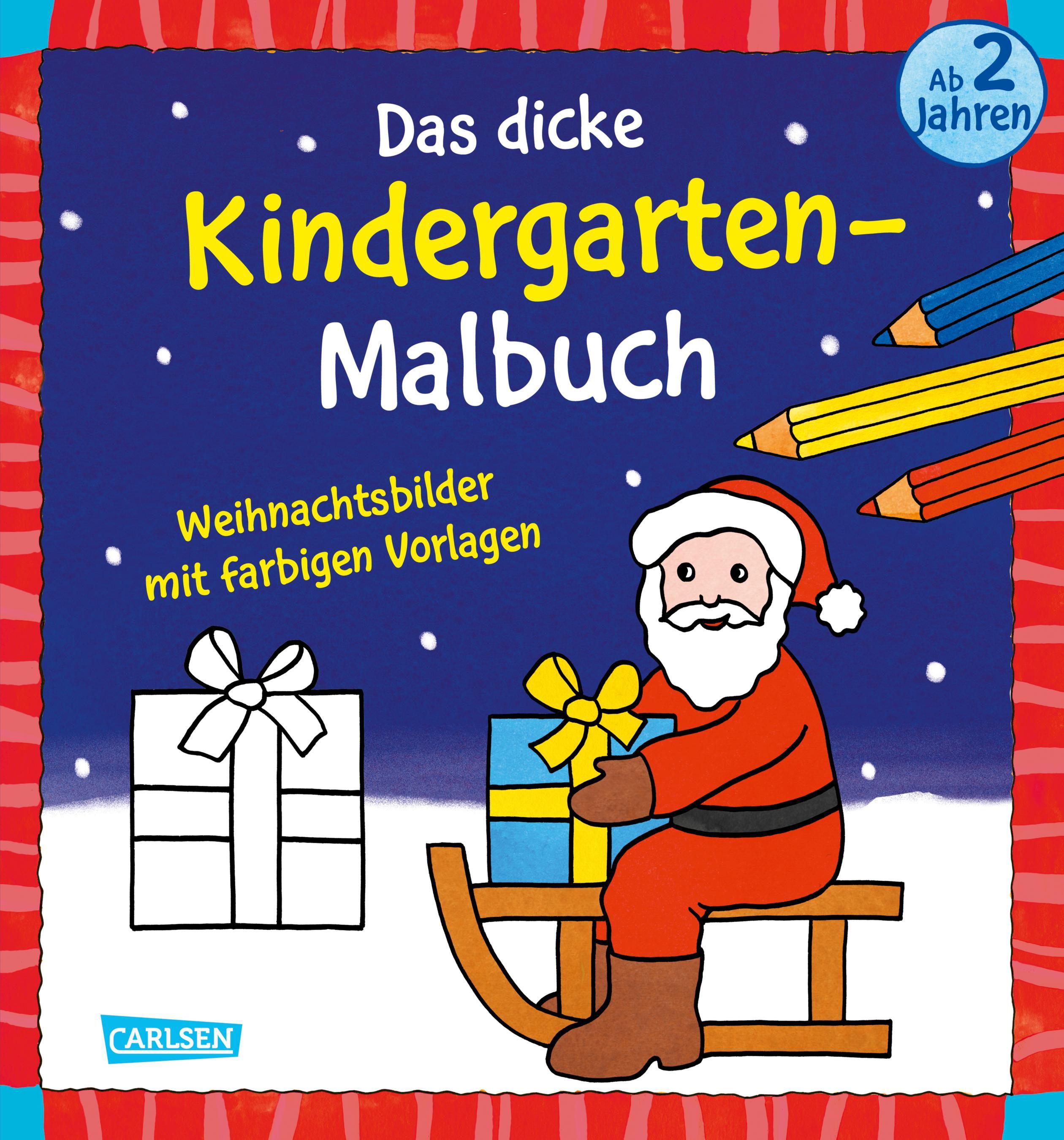 Schön Frei Druckbare Weihnachtsbilder Bilder - Malvorlagen Von ...