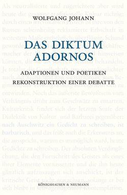 Das Diktum Adornos von Johann,  Wolfgang