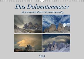 Das Dolomitenmasiv (Wandkalender 2020 DIN A3 quer) von Rufotos