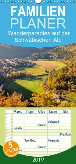Das Donautal – Wanderparadies auf der Schwäbischen Alb – Familienplaner hoch (Wandkalender 2019 , 21 cm x 45 cm, hoch) von Keller,  Markus
