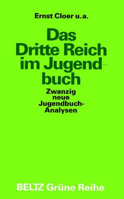 Das Dritte Reich im Jugendbuch von Cloer,  Ernst