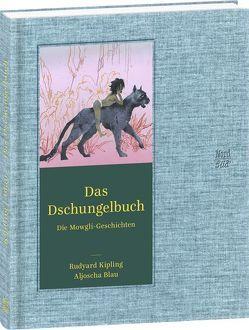 Das Dschungelbuch von Blau,  Aljoscha, Harranth,  Wolf, Kipling,  Rudyard