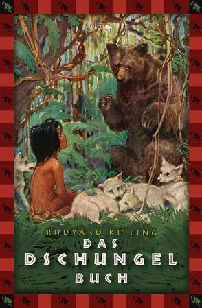 Das Dschungelbuch von Kipling,  Rudyard