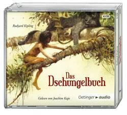 Das Dschungelbuch (NA) (4 CD) von Harranth,  Wolf, Kaps,  Joachim, Kipling,  Rudyard, Pflug,  Jan-Peter