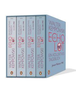 Das Echolot von Kempowski,  Walter