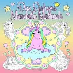 Das Einhorn Mandala Malbuch von Fluffy,  Pink
