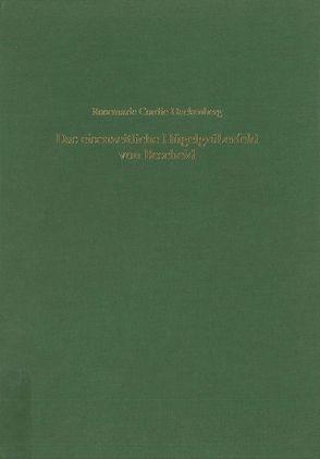Das eisenzeitliche Hügelgräberfeld von Bescheid, Kreis Trier-Saarburg von Cordie-Hackenberg,  Rosemarie, Hundt,  Hans J, Kunter,  Manfred