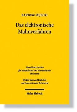 Das elektronische Mahnverfahren von Sujecki,  Bartosz