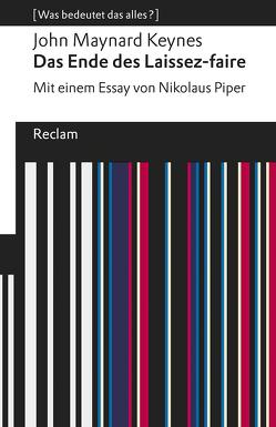 Das Ende des Laissez-faire von Keynes,  John Maynard, Schröder,  Jürgen