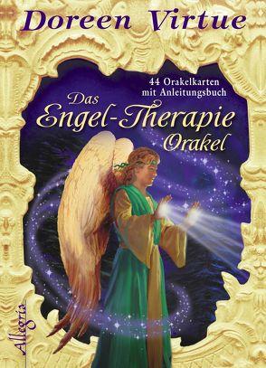 Das Engel-Therapie-Orakel (Kartendeck) von Hansen,  Angelika, Virtue,  Doreen