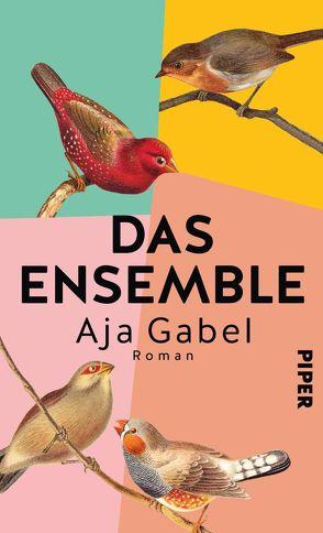 Das Ensemble von Gabel,  Aja, Löcher-Lawrence,  Werner