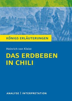 Das Erdbeben in Chili. von Kleist,  Heinrich von, Schede,  Hans-Georg