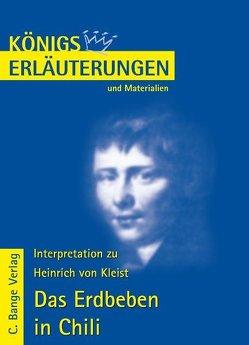 Das Erdbeben in Chili von Heinrich von Kleist. von Kleist,  Heinrich von, Schede,  Hans-Georg