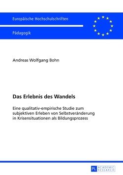 Das Erlebnis des Wandels von Böhn,  Andreas