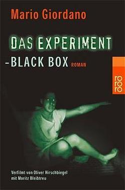 Das Experiment – Black Box von Giordano,  Mario