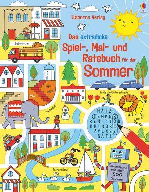 Das extradicke Spiel-, Mal- und Ratebuch für den Sommer von Bowman,  Lucy, Gilpin,  Rebecca, Maclaine,  James