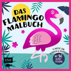 Das Flamingo-Malbuch