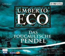 Das Foucaultsche Pendel von Brückner,  Christian, Düben,  Otto, Eco,  Umberto, Haase,  Matthias, Lampe,  Jutta, Sander,  Otto