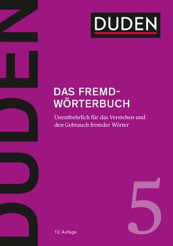 Das Fremdwörterbuch von Dudenredaktion
