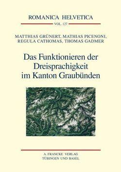 Das Funktionieren der Dreisprachigkeit im Kanton Graubünden von Cathomas,  Regula, Gadmer,  Thomas, Grünert,  Matthias, Picenoni,  Mathias