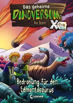 Das geheime Dinoversum Xtra – Bedrohung für den Edmontosaurus von Karl,  Elke, Lipkowski,  Ron, Reinki,  Kaja, Stone,  Rex