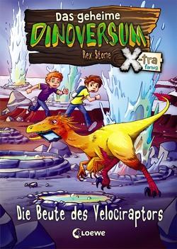 Das geheime Dinoversum Xtra – Die Beute des Velociraptors von Karl,  Elke, Lipkowski,  Ron, Reinki,  Kaja, Stone,  Rex